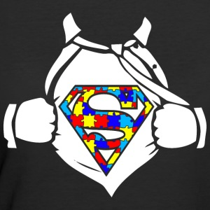Autism Superhero Awareness - Women's 50/50 T-Shirt