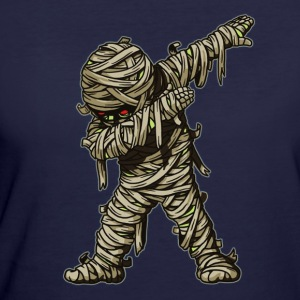 Dabbing Mummy Funny Halloween Monsters - Women's 50/50 T-Shirt