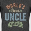 World's Best Uncle - Men's 50/50 T-Shirt