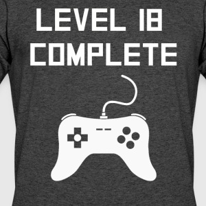 Level 18 Complete - Men's 50/50 T-Shirt