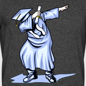 The Dabbing Graduation Class of 2017 Funny Gifts - Men's 50/50 T-Shirt