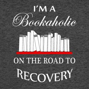 I'm a bookaholic on the road to recovery - Men's 50/50 T-Shirt