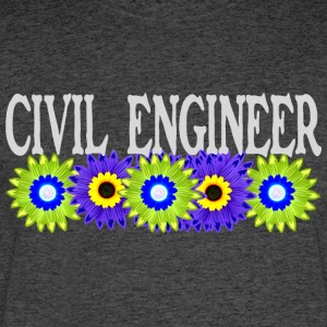 Civil Engineer Asters - Men's 50/50 T-Shirt