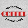 Accepting coffee donations - Men's 50/50 T-Shirt
