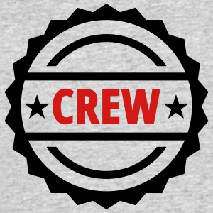 crew team button - Men's 50/50 T-Shirt