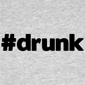 hashtag drunk - Men's 50/50 T-Shirt