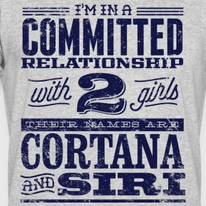 Cortana and Siri - Men's 50/50 T-Shirt