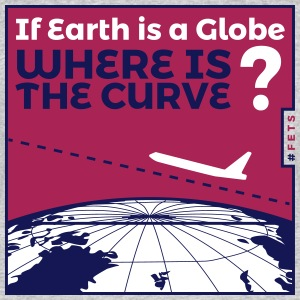 Flat Earth Design by #FETS - N4 - Men's 50/50 T-Shirt