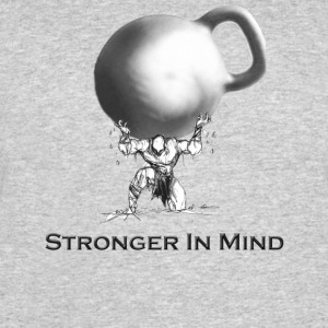 Stronger In Mind - Men's 50/50 T-Shirt