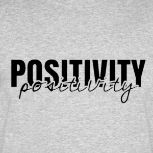'Positivity' Collection - Men's 50/50 T-Shirt