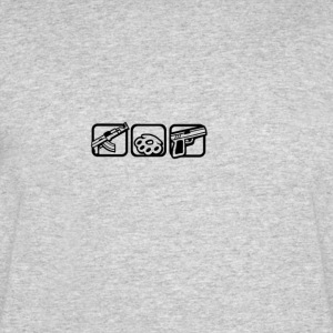The Basement Project | Grand Theft - Men's 50/50 T-Shirt