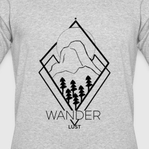 wanderlust - Men's 50/50 T-Shirt