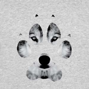 wolf paw - Men's 50/50 T-Shirt