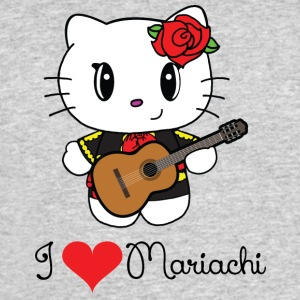 I Heart Mariachi - Men's 50/50 T-Shirt