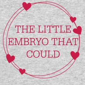 The Little Embryo That Could (IVF Baby) - Men's 50/50 T-Shirt
