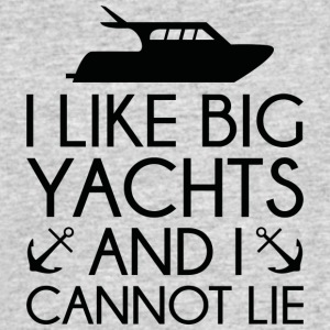I Like Big Yachts - Men's 50/50 T-Shirt