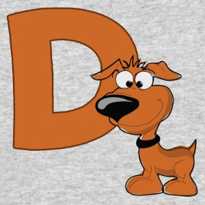 D Is For Dog - Men's 50/50 T-Shirt