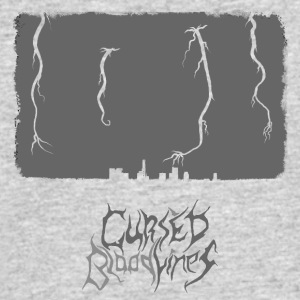 Cursed Bloodlines - City Destruction Logo - Men's 50/50 T-Shirt