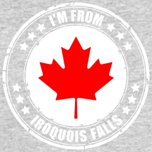 I'm from IROQUOIS FALLS - Men's 50/50 T-Shirt