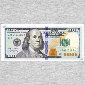 100 bill - Men's 50/50 T-Shirt