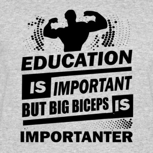 Education is important - Men's 50/50 T-Shirt