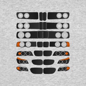 Evolution of BMW 5 series - Men's 50/50 T-Shirt