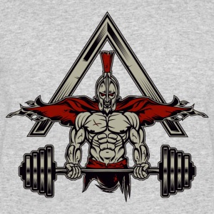 Spartan Weight Lifter - Perfect Gift For Gym Rats - Men's 50/50 T-Shirt