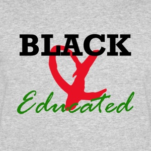 Black and Educated - Men's 50/50 T-Shirt