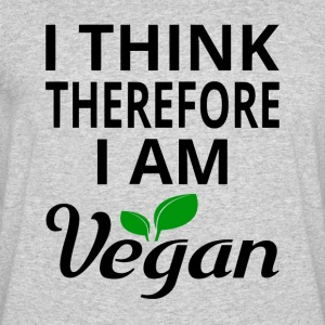 I Think Therefore I Am Vegan - Men's 50/50 T-Shirt