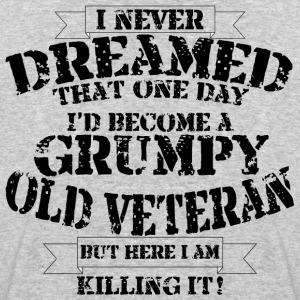 Grumpy Old Veteran - Men's 50/50 T-Shirt
