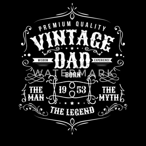 Vintage Dad Born 1953 Shirt
