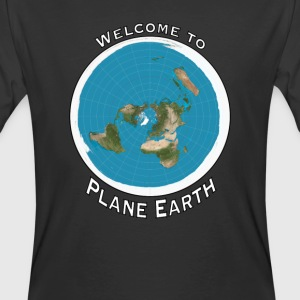 Welcome to Plane Earth - Men's 50/50 T-Shirt