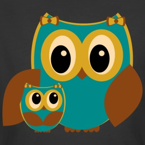 Owl Family - Men's 50/50 T-Shirt