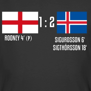 England 1-2 Iceland - Men's 50/50 T-Shirt