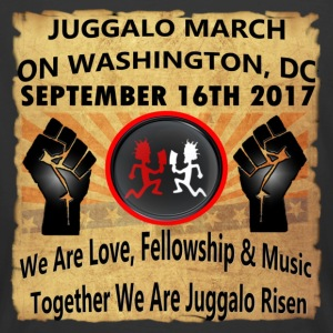 Juggalo March On Washington,DC 9-16-2017 - Men's 50/50 T-Shirt