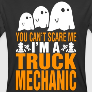 You Cant Scare Me Im Truck Mechanic Halloween - Men's 50/50 T-Shirt