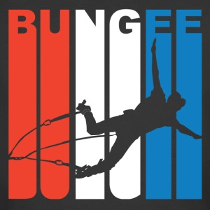 Red White And Blue Bungee Jumping - Men's 50/50 T-Shirt