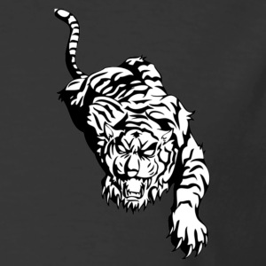 tribal tiger - Men's 50/50 T-Shirt