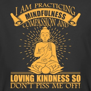 Buddha Don't Piss Me Off Shirt - Men's 50/50 T-Shirt
