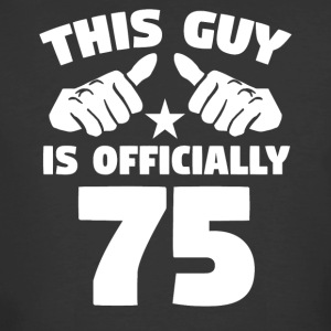 This Guy Is Officially 75 Years Old 75th Birthday - Men's 50/50 T-Shirt