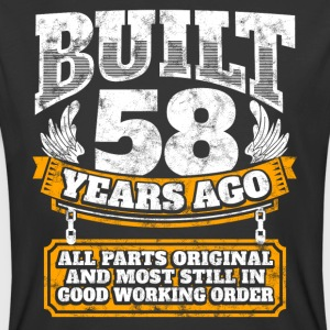 58th birthday gift idea: Built 58 years ago Shirt - Men's 50/50 T-Shirt
