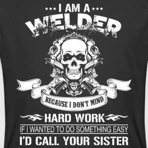 I Am A Welder T Shirt - Men's 50/50 T-Shirt