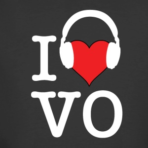 I Love VO - White Font - Men's 50/50 T-Shirt