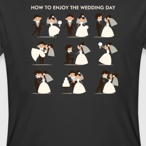 how to enjoy the wedding day - Men's 50/50 T-Shirt
