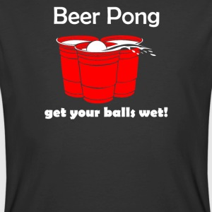 Beer Pong Get Your Balls Wet Funny Drinking Game - Men's 50/50 T-Shirt