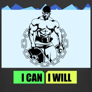 I can I will - Men's 50/50 T-Shirt