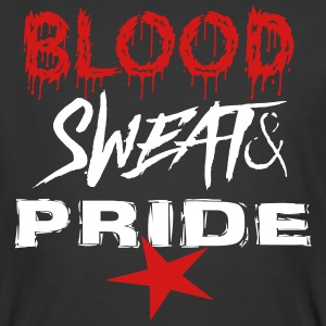 blood sweat and pride - Men's 50/50 T-Shirt