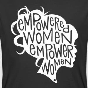 Feminist Empowered Women March - Men's 50/50 T-Shirt
