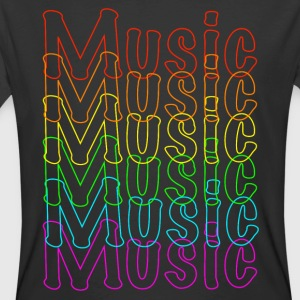 Neon Music - Men's 50/50 T-Shirt