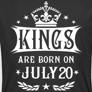 Kings Are Born On July 20 - Men's 50/50 T-Shirt